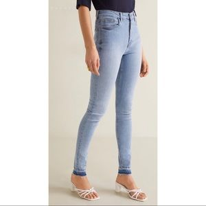 (NWT) Mango 'New SOHO' High Rise Skinny Jeans